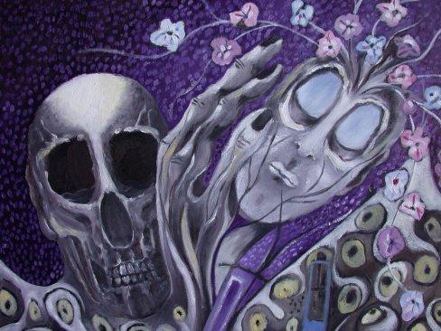 ENTRE LA VIE ET LA MORT, détail, 2007