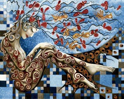 JARDIN D'EAU, 120h x 150 cm
